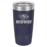 Midway 20 oz. Football Tumbler