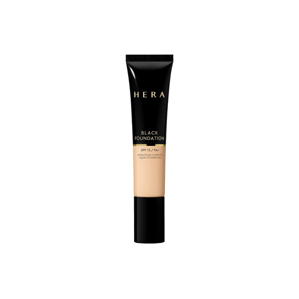 Black Foundation SPF 15/PA+