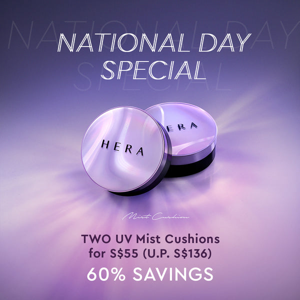 [National Day Special] UV Mist Cushion Ultra Moisture SPF 34/PA++