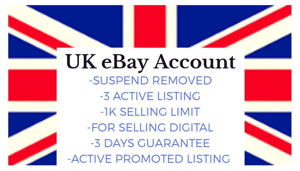 Uk Ebay Account Suspend Removed 3 Active Listing 1k Selling Limit Digital Dropshipper