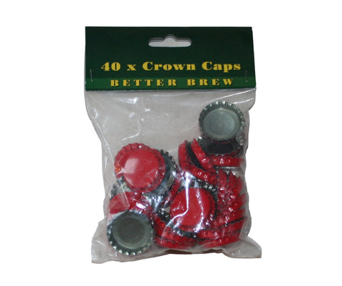 40 Crown Caps