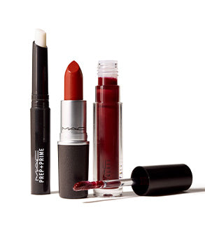MAC TRIO STARS OF THE PARTY RED