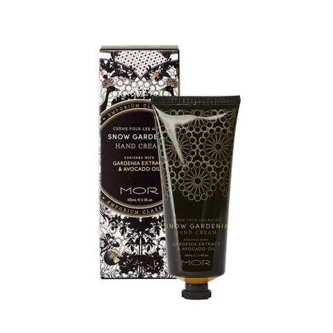MOR EC HAND CREAM 100ML SNOW GARDENIA