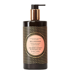 MOR EC H&B LOTION 500ML BELLADONNA