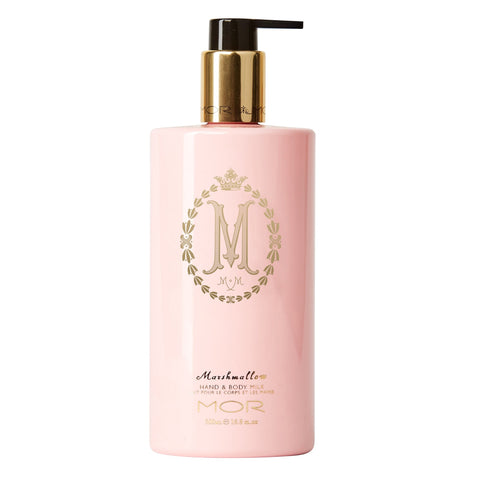 MOR HAND & BODY MILK 500ML MARSHMALLOW