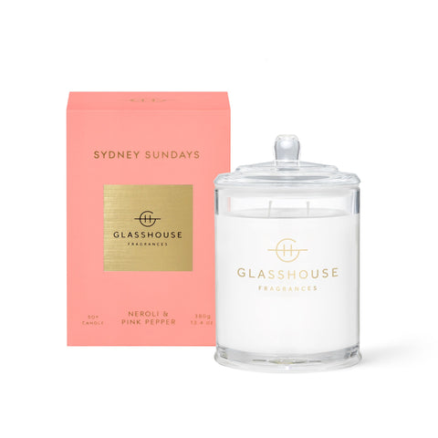 Glasshouse Fragrances 380g SYDNEY SUNDAYS Candle