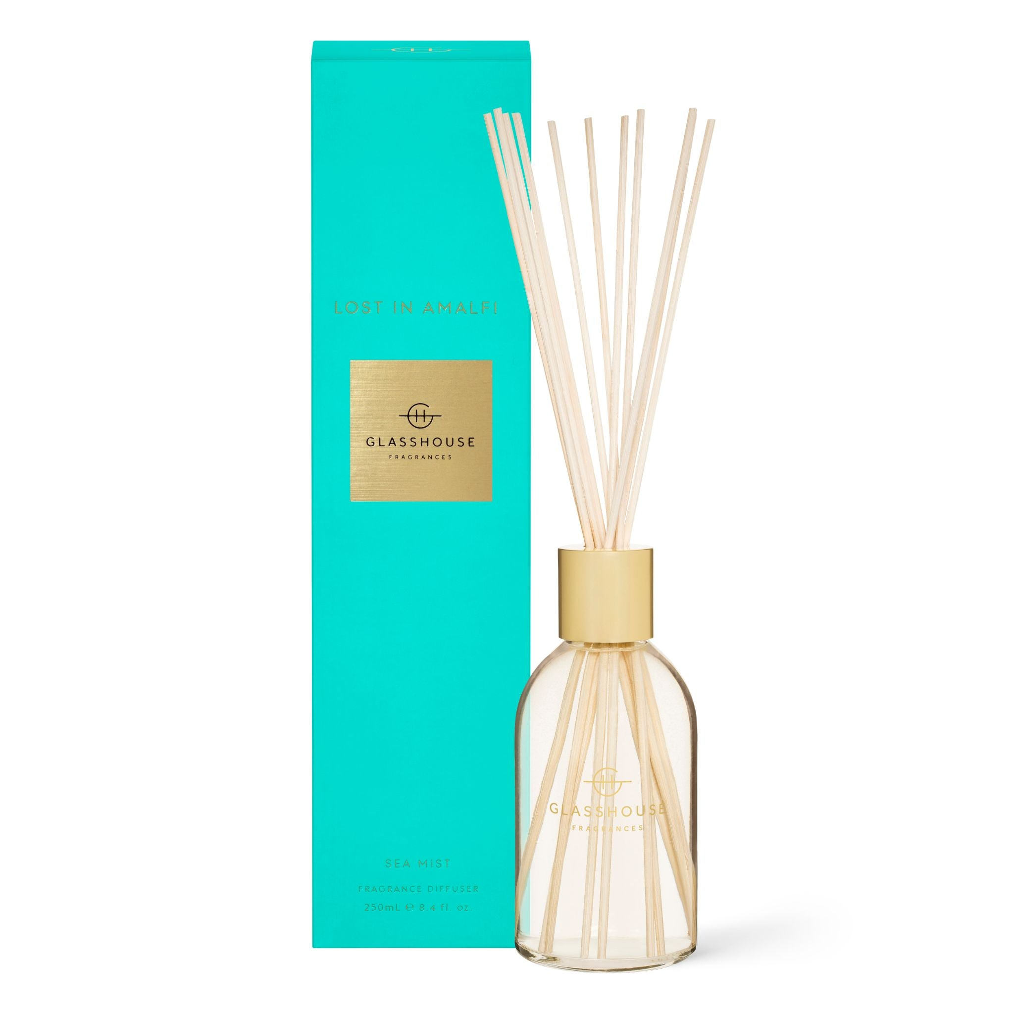 Glasshouse Fragrances 250ml LOST IN AMALFI Diffuser