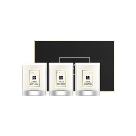 JO MALONE TRAVEL CANDLE COLLECTION 3x60g