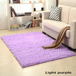 Violet purple color Bedroom bathroom living room porch carpet rug mat yoga table mat 80*160cm 80*200cm 120*160cm