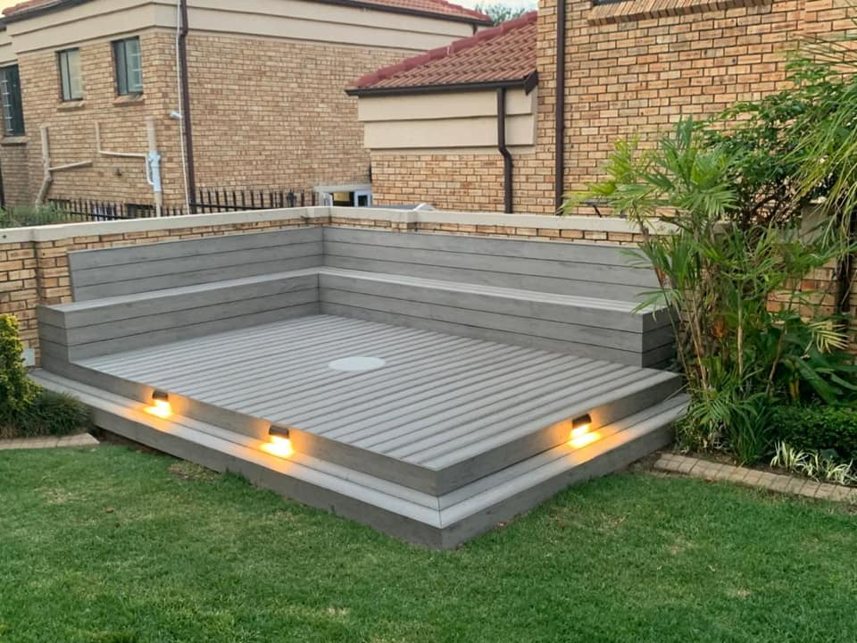 Our Composite Decking is Durable, Lightweight with a realistic and natural wood appearance. With branches in Johannesburg & Durban we stock a variety of Composite Decking boards, Fascia boards & Deck accessories. Very Low Maintenance & Superior quality