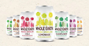 Whole Earth Organic Soft Drinks