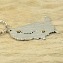 Load image into Gallery viewer, Personalized State To State United States Keychain
