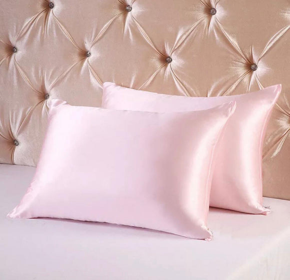 Silk Pillow Cases - 2 Pack