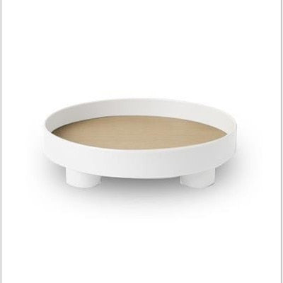 Nordic Round Storage Tray Tableware - ZOI DECOR