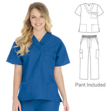 Load image into Gallery viewer, Unisex Stretch Scrub Set