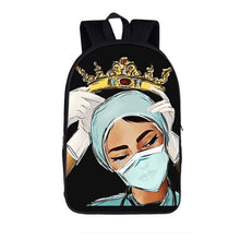 Load image into Gallery viewer, Adjust your crown: medical bookbag