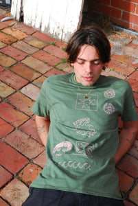 Kannava Tshirt - Military Green