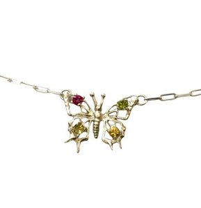 Sisi Butterfly Necklace
