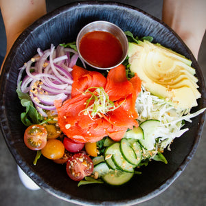 Smoked Salmon Bowl