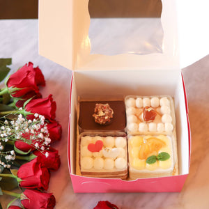 Assorted Individual Cake Box (4Flavours)