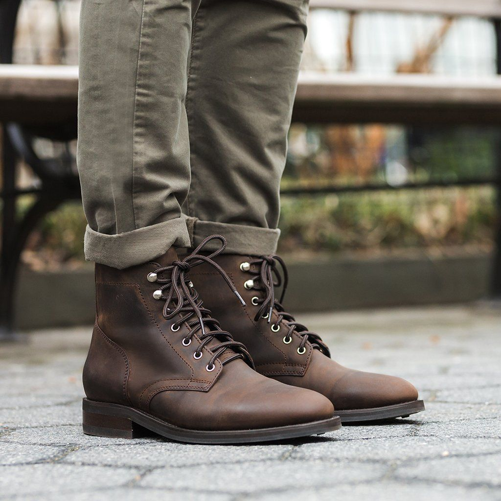 2020 New Genuine Leather Outdoor Boots