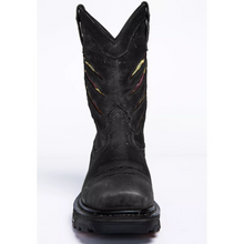 Load image into Gallery viewer, Men's Ripped Flag Western Work Boots - Composite Toe