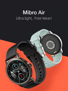 Mibro Air Smart Watch Men Women IP68 Waterproof Bluetooth 5 Sleep Monitor Fitness Heart Rate Tracker