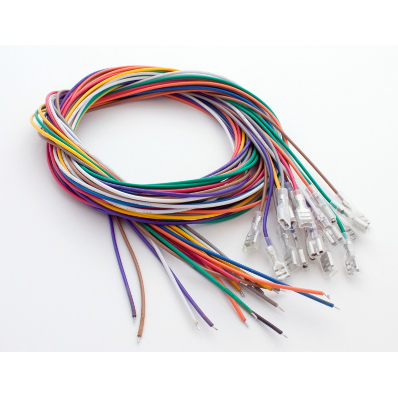 "16 Wire Rainbow Pack(TM) with .187"" Quick Connector"