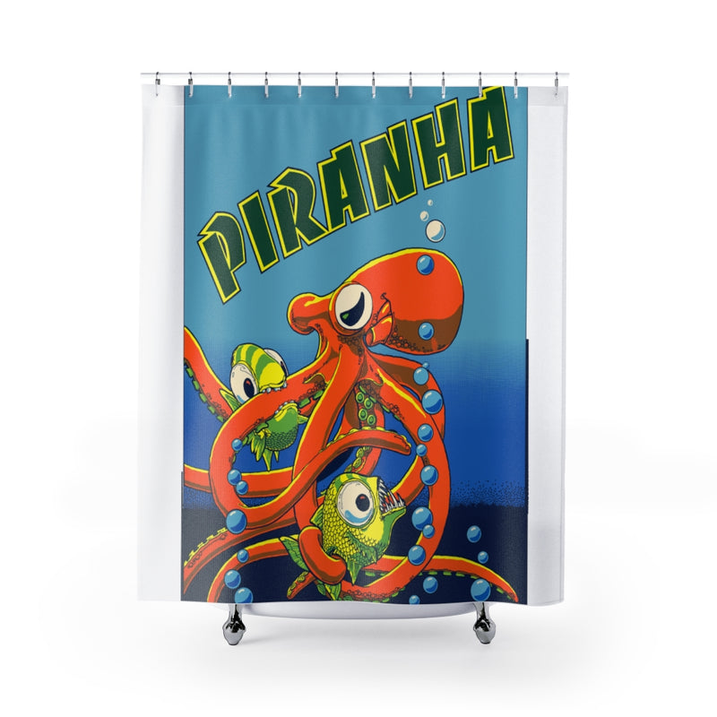 Piranha Shower Curtain
