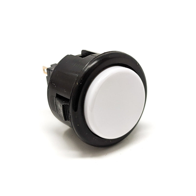 Seimitsu PS-14-D 24 mm Snap-in Button - Black & White