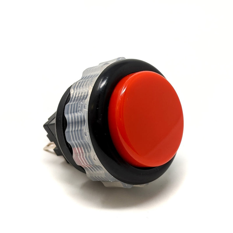 Seimitsu PS-14-DN 24 mm Screw-in Button - Black & Red