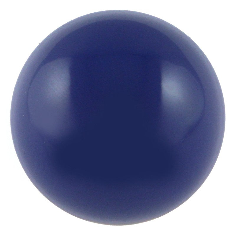 Butteroj Deep Blue solid 38mm ball tops