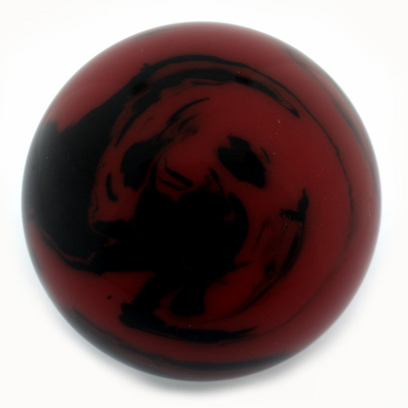 Butteroj Red & Black Marble 38 mm Ball Top