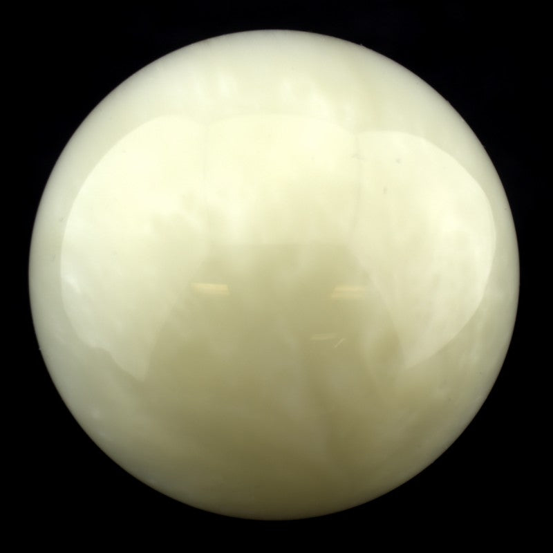 Butteroj Yellow Ivory Pearl 38 mm Ball Top