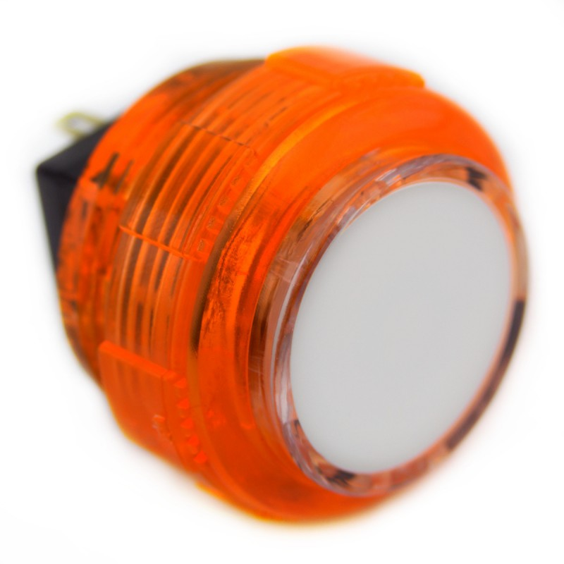 CROWN / SAMDUCKSA SDB-202C-TC Cherry 30 mm Screw-in button - Orange