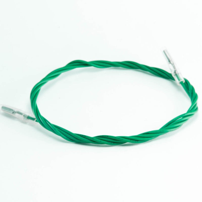 "Green Wire with .110"" Insulated Female Quick Connect"