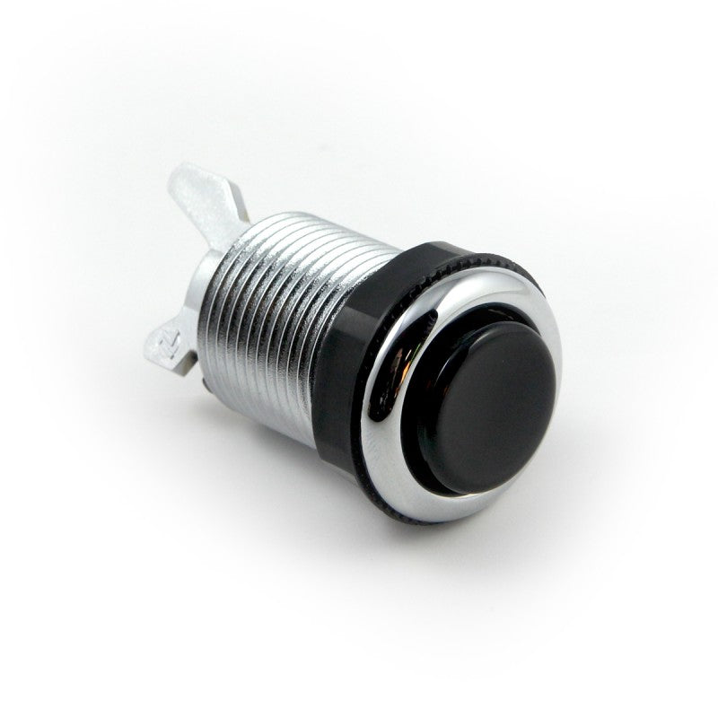 iL PSL-L Concave Button - Chrome & Black Plunger