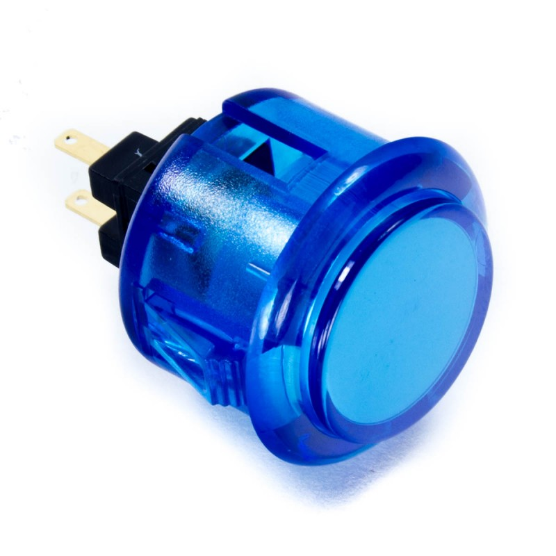 Jyuee Ang G102CL-PC 30 mm Snap-in Button - Clear Blue
