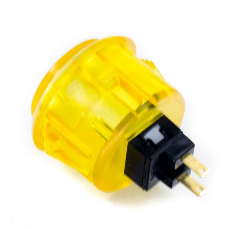 Jyuee Ang G102CL-PC 30 mm Snap-in Button - Clear Yellow