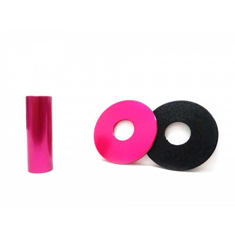 PAS JLF ALU Premium Shaft Cover and Dust Cover Fuscia
