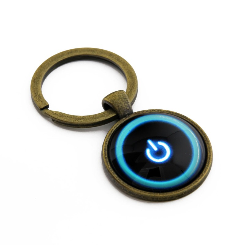 Power Button Keychain