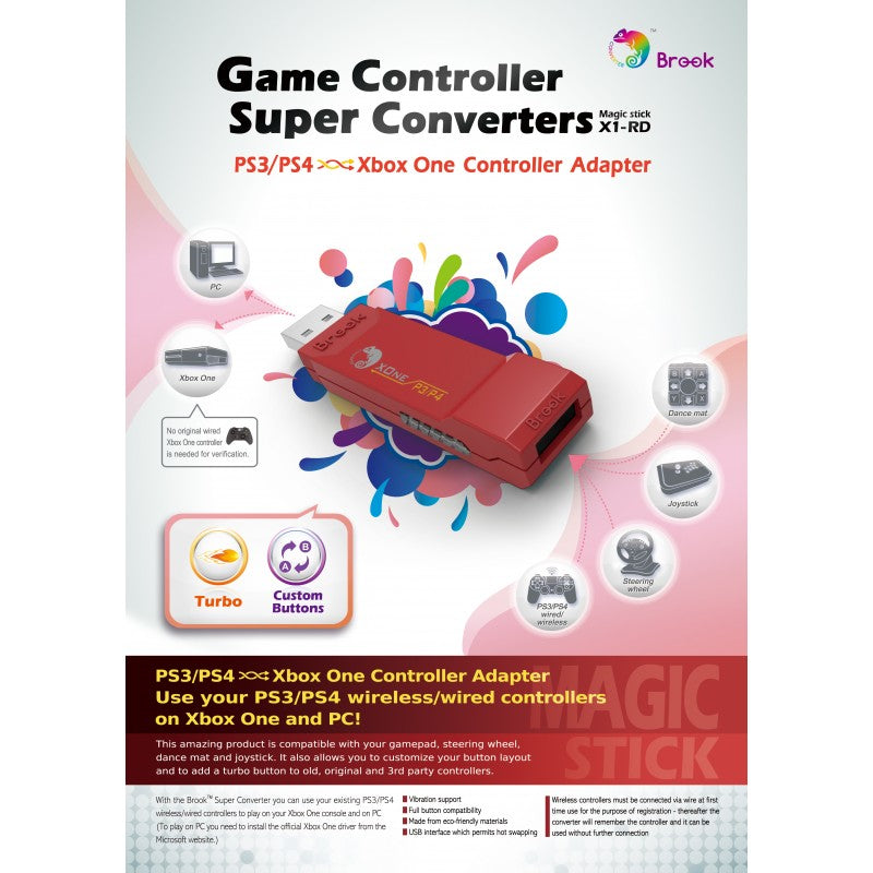 PS3 / PS4 to Xbox One Super Converter