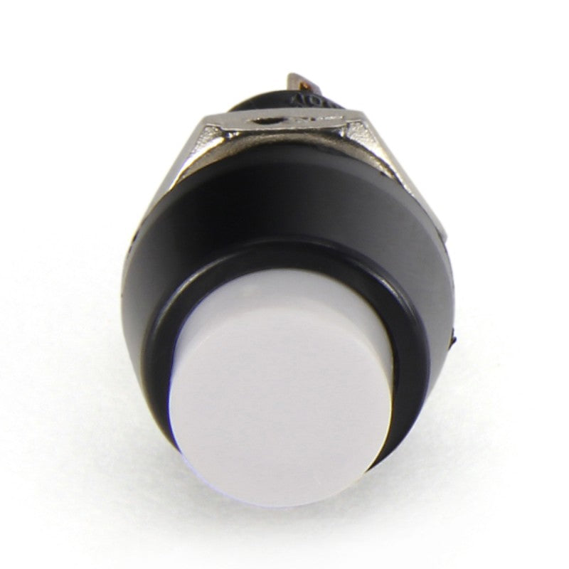 Samducksa Push & Lock 10 mm Button - White