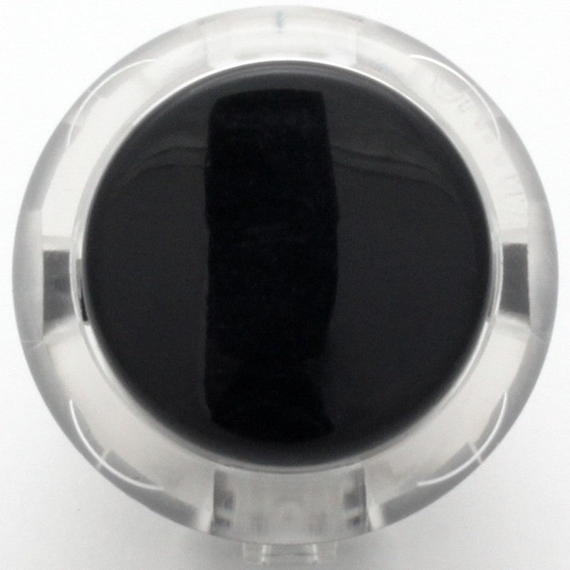 Sanwa OBSC-30 Snap-in Button - Clear White & Dark Hai Plunger