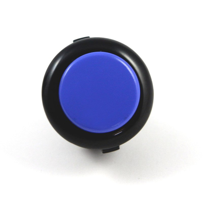Sanwa OBSF-24 Snap-in Button - Black & Dark Blue
