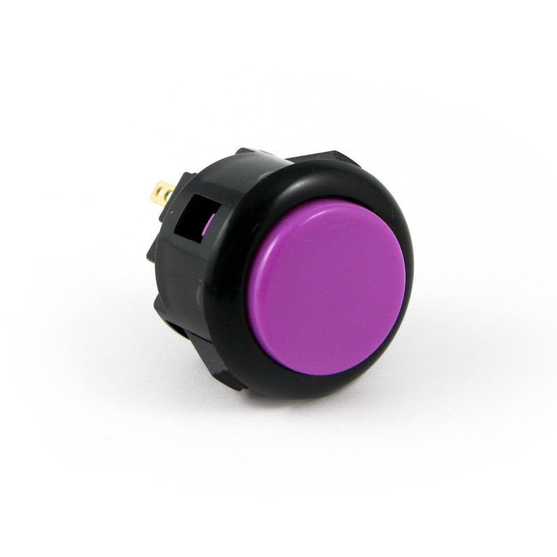 Sanwa OBSF-24 Snap-in Button - Black & Violet