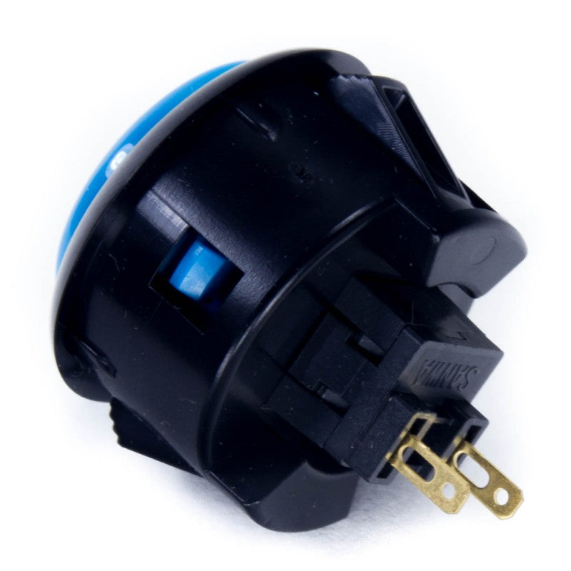 Sanwa OBSF-30 Snap-in Button - Black & Blue
