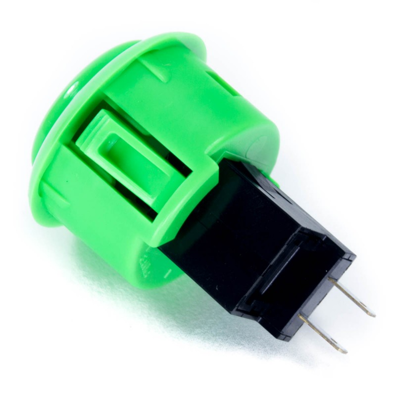 Sanwa OBSF-30RG Snap-in Button - Green