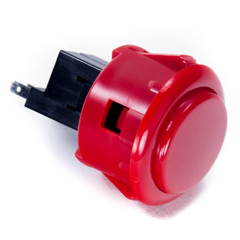 Sanwa OBSF-30RG Snap-in Button - Red