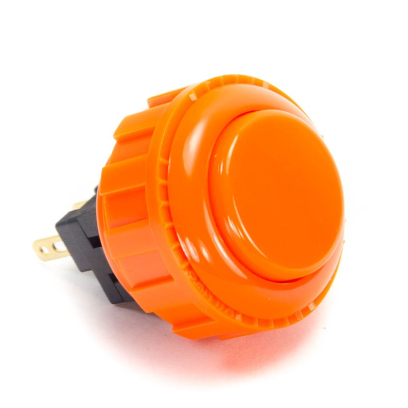 Sanwa OBSN-24 Screw-in Button - Orange